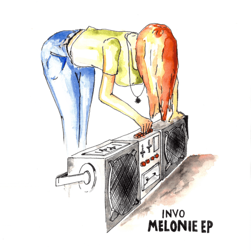 Melonie EP - Cover